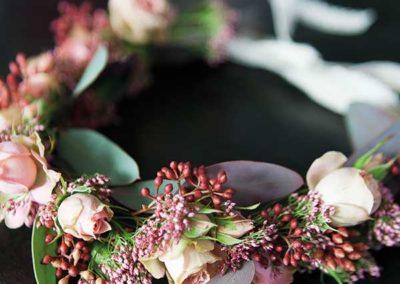 Couronne de fleurs - Mariage