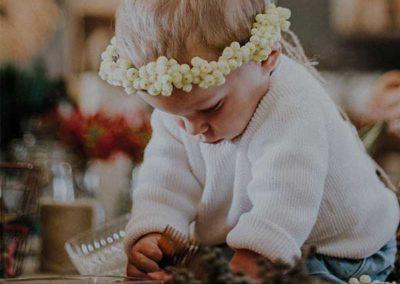 Couronne de fleurs - Enfants